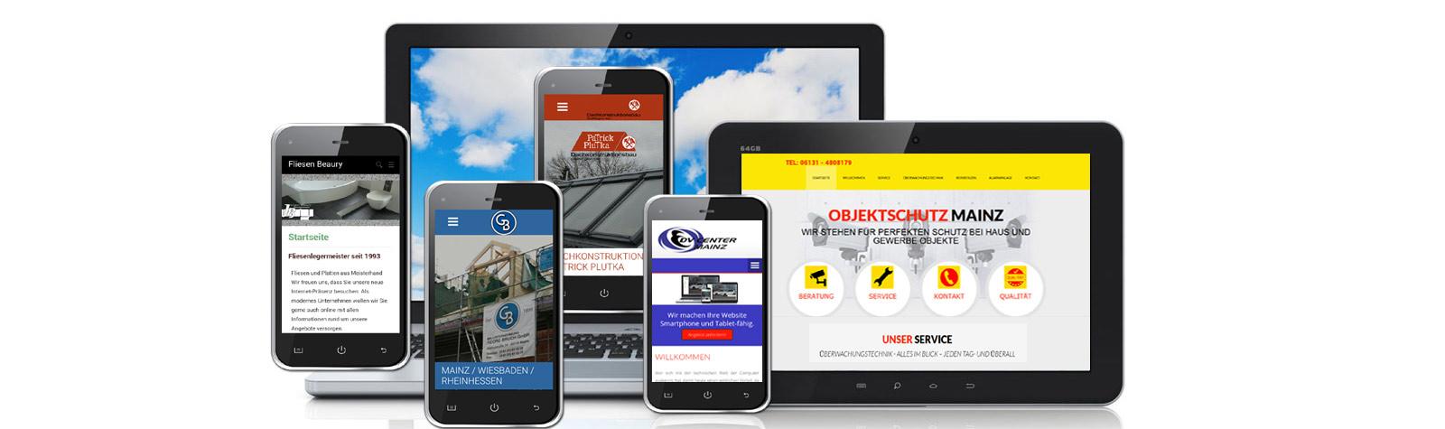 Optimierung für Mobilgeräte